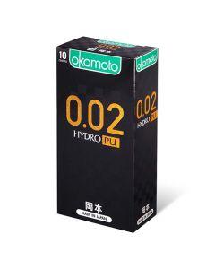 岡本 0.02 水性聚氨酯 10 片裝 PU 安全套
