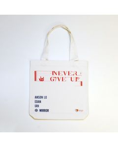 NEVER GIVE UP Tote Bag (第1輪預購)  - 只限自取